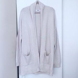 🍂 New! BB Dakota Cream Long Cardigan Sweater